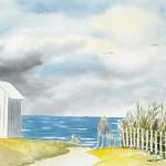 Dunes et cabines