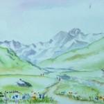 Alpes - Vallée de la Grande Sassiere