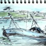 Balade Bretagne Port de Camaret epaves