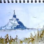 Mont Saint Michel - Avant d'arriver
