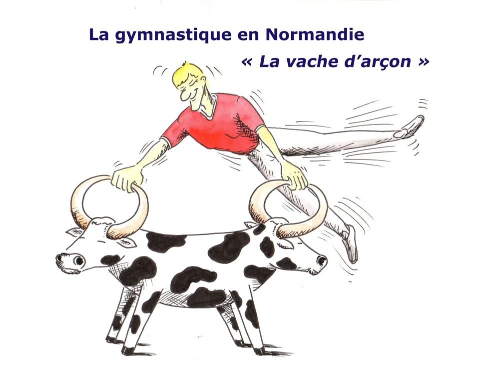 Dessins d humour christian colin - Vache normande dessin ...