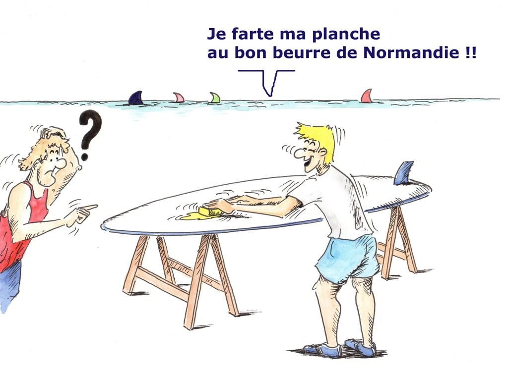 Planche A Voile Normande Christian Colin