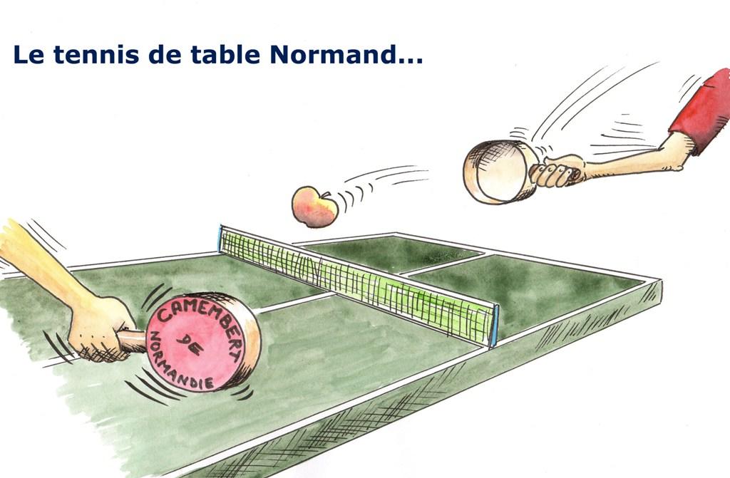 Dessins d humour christian colin - Dessin tennis de table ...