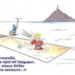 Athlétisme - Saut en longueur Normand