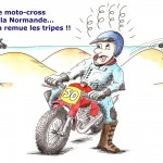 Moto cross normand