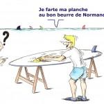 Planche à voile normande