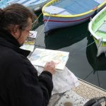 Peintre en plein air à Nice 4