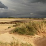 Orage sur dunes