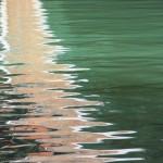 Reflet sur la lagune