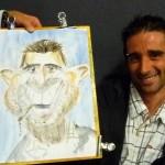 Caricature aquarelle 1