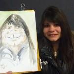 Caricature aquarelle 2