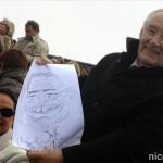 Caricature du maire de Nice Mr Jacques Medecin 2008