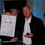 Caricatures à l'aquarelle en soirée privée 3