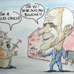 Caricature départ en retraite 2